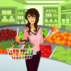 Edita Kaye Yummy Grocery Cartoon
