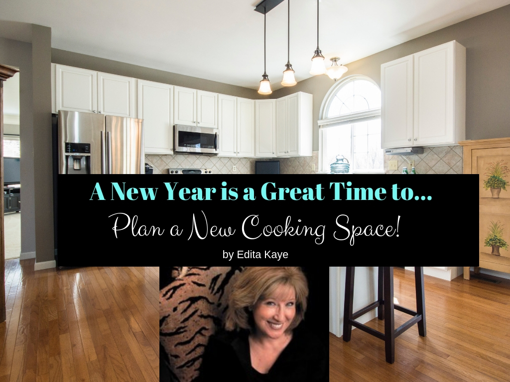 new year cooking space Edita Kaye